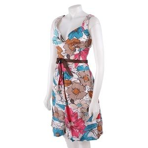 Max & Cleo Dresses & Skirts - New Silk Floral Max & Cleo Flower Dress Size 8