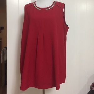 NWT Alfani red top