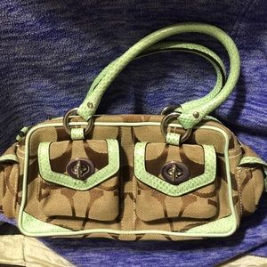 Clearance Sale Authentic Coach Small Satch