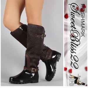 Shoes - 💄Espresso Rainboots💄