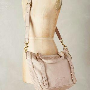 Liebeskind Handbags - Liebeskind evita leather cream satchel anthropolog