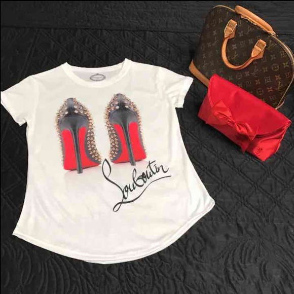 d0dd481ff90 Christian Louboutin red bottoms fashion Tee Boutique