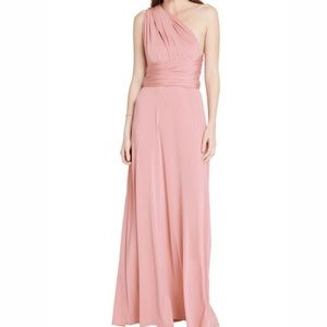 Dresses & Skirts - Convertible infinity Maxi Dress in Blush Pink
