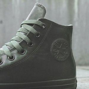 Converse Other - Converse Chuck Taylor HI Top Green Rubber Shoe