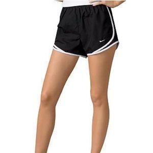 Nike dri-fit tempo black workout running shorts