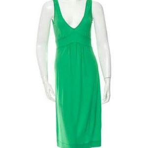 Diane von Furstenberg Dresses & Skirts - Diane von Furstenberg sleeveless midi dress green