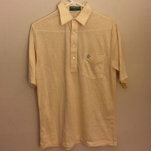 Original Penguin Other - Vintage Penguin Polo By Munsingwear Yellow