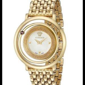 Versace Accessories - Versace gold watch