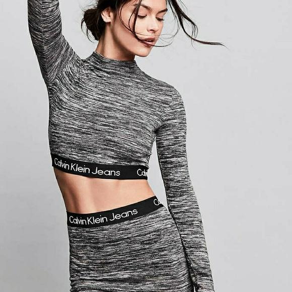 💠HOST PICK💠 Calvin Klein Logo Skirt (RARE) NWT
