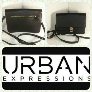 Urban Expressions Handbags - Urban Expressions Black Crossbody bag!