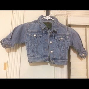 Vintage Baby Gap Denim Jean Jacket