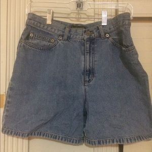 Vintage Ralph Lauren High Waisted Jean Shorts