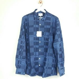 Norse Projects Other - NORSE PROJECTS blue madras print sportshirt