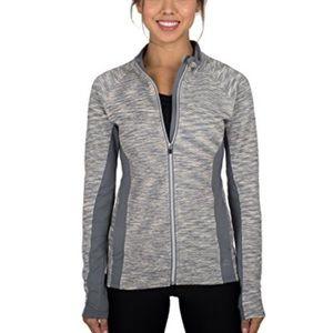 RBX Jackets & Blazers - Quilted Grey Running Jacket