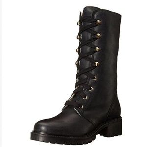Ilse Jacobsen Shoes - $339* Ilse Jacobsen Black LEATHER Lace up Boots