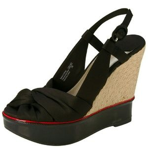 Isabel Toledo Shoes - 🆕Sally Split Jute Designer Wedges - Isabel Toledo