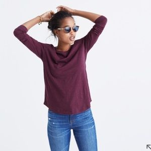 Madewell Accessories - MADEWELL whisper cotton long-sleeve crewneck tee