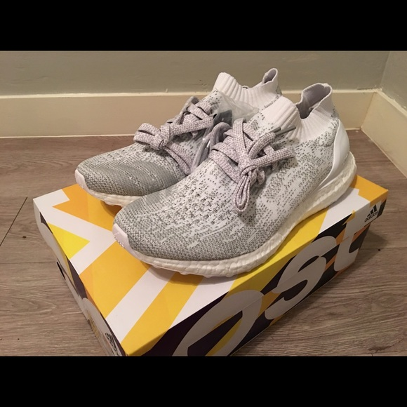 the latest 17a71 18fce Adidas Ultra Boost Uncaged 3M Triple White US 8,5