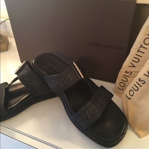 c4cd9fcc2019 Louis Vuitton Other - 🌟LOUIS VUITTON MENS SANDALS 💯AUTHENTIC