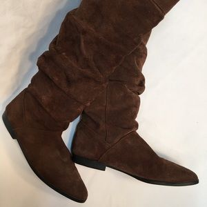 Spiegel Shoes - Spiegel leather slouch boots