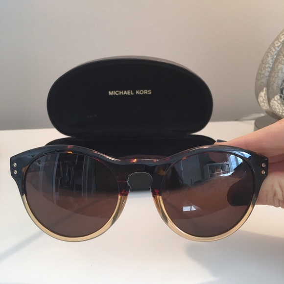 Michael Kors Accessories - Two Tone Michael Kors Notch Bridge Sunnies