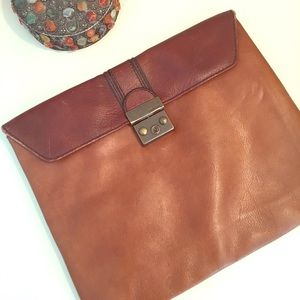 Fossil Genuine Leather iPad Sleeve