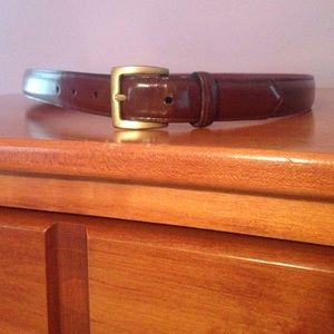 Coach Other - COACH MENS sz 38 (95 cm) brown leather belt