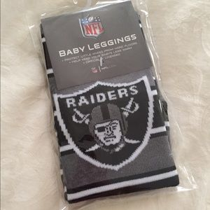 Oakland Raiders Other - Oakland Raiders Baby Leggings/Warmers