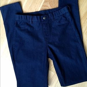 Uniqlo jeggings xs (jeans leggings) barely worn