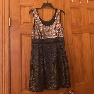 Madewell sequin dress