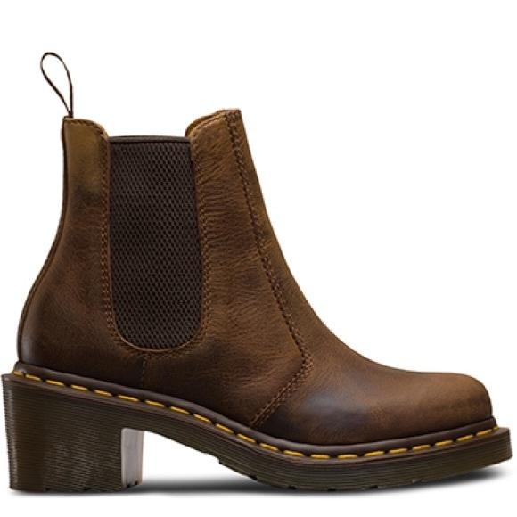 Dr. Martens — Cadence Chelsea Boot Black Greenland at Shoe La La