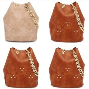 Pink Haley Maisie Bucket Purse