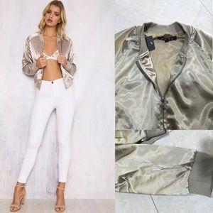Jackets & Blazers - Stylish bomber jacket