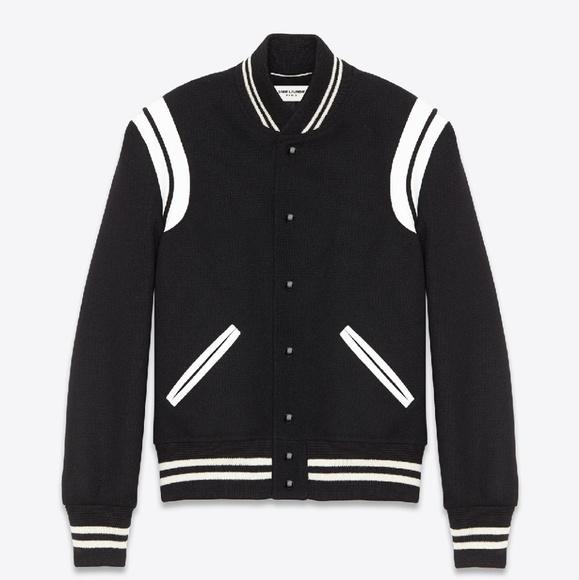 e1126fd8e63 Saint Laurent Jackets & Coats   Teddy Varsity Jacket   Poshmark
