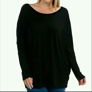 Bellino Clothing Tops - Bellino Plus Size Top