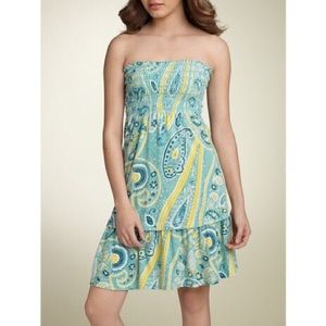 Juicy Couture 'Gia' Paisley Print Terry Dress