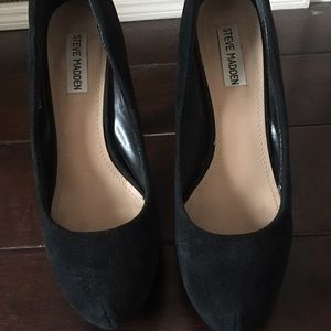 Black Steve Madden Heels Size 9