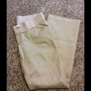 Old Navy Pants - Old Navy Maternity Khakis