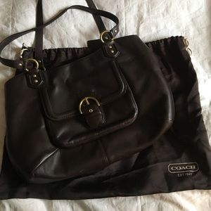Coach Handbags - Leather coach bag