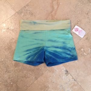 Lily Lotus Pants - Lily Lotus Organic Cotton ombré  yoga shorts