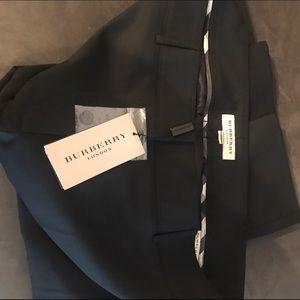 NWT Burberry London Black Pants Size 14