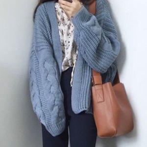 💞NEW IN💞pattern sweater cardigan💙💚💙💚