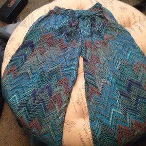 tolani Pants - Wide legged lightweight pants Tolani size M