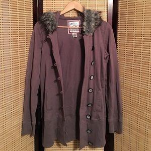 Miken Jackets & Blazers - Miken active hooded jacket