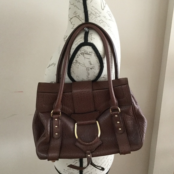 c59c49a612 Dolce   Gabbana Handbags - AUTHENTIC DOLCE   GABBANA BROWN LEATHER BAG