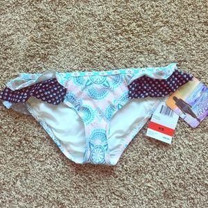 Coco Rave Other - Coco Rave paisley ruffle swim bottoms