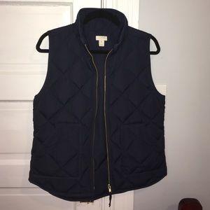J. Crew Jackets & Blazers - J Crew Navy Vest