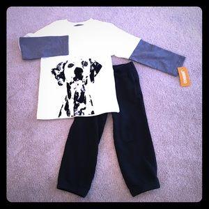 Gymboree Other - Gymboree Shirt/Jogger Set - 3/4T