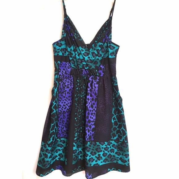 Yumi Kim Dresses - NWT - Yumi Kim jewel-toned animal print dress