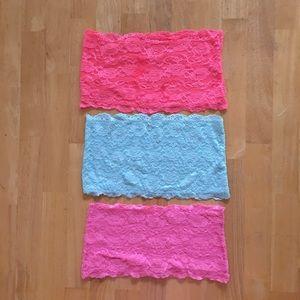 Other - Lace Bandeau Bundle